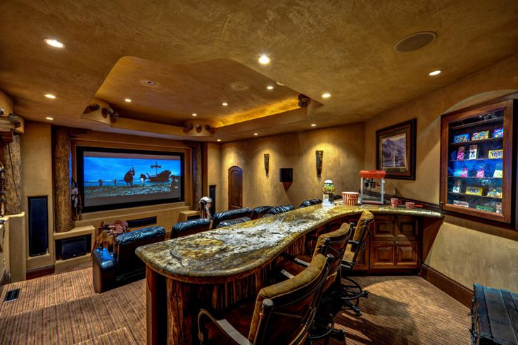 Home Theater With Snack Bar Recreation Room Pinterest Utah Home And TVs