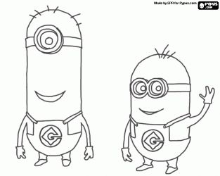 24 best images about Coloring Pages {Minions} on Pinterest