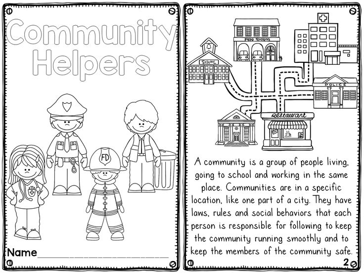 17 Best images about Who Works Here?/Community Helpers on