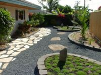 xeriscaped backyard design