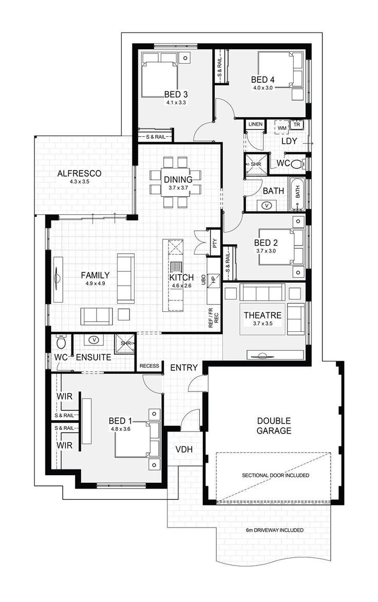 104 best House floor plans images on Pinterest