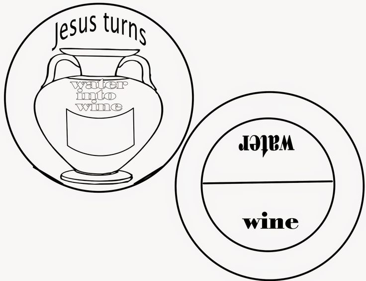 Sunday School Fun: The First Miracle- Jesus turns water