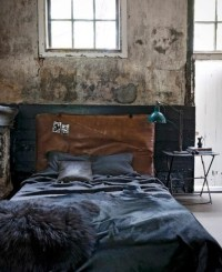 Modern Grunge Concrete Bedroom | home sweet home ...