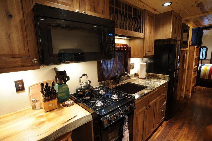 small kitchen renovation aid pro jj-caboose-3--from tinyhouseswoon. loving the quality ...