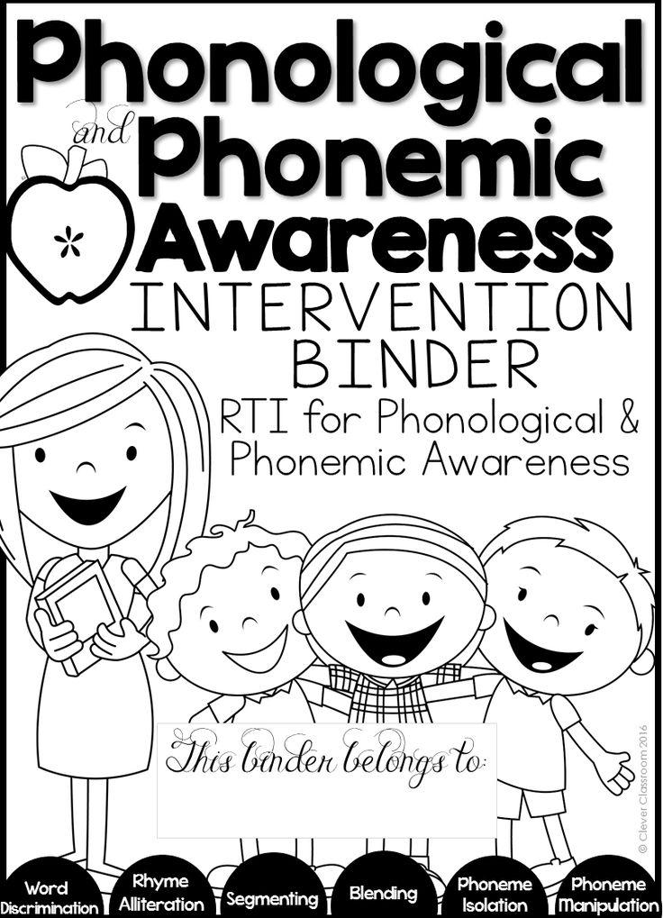 Best 25+ Phonemic awareness kindergarten ideas on Pinterest