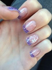 winter time nail design #nails