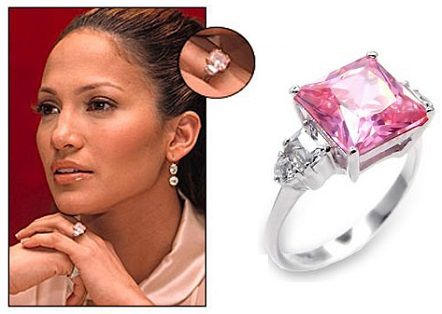 Jennifer Lopez Was Gifted A 61 Carat Pink Diamond Ring By