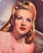 betty grable 1940's hair. 1940s