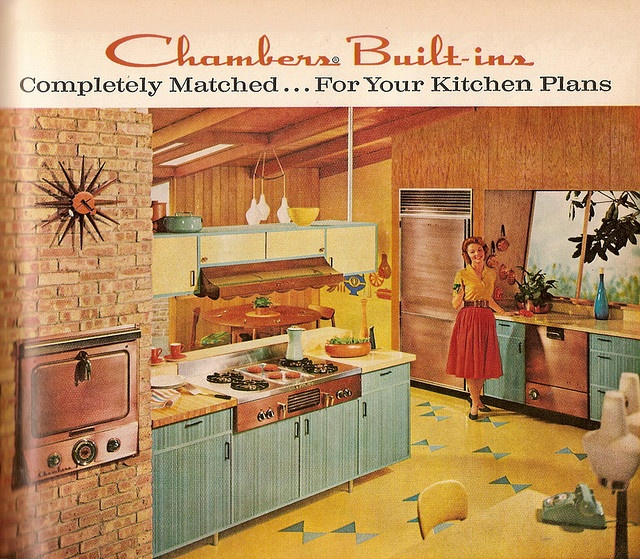17 Best images about sixties kitchens on Pinterest  Home