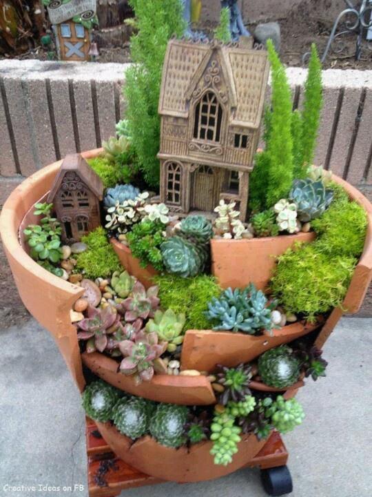 Les 106 Meilleures Images à Propos De Miniature Gardening Ideas