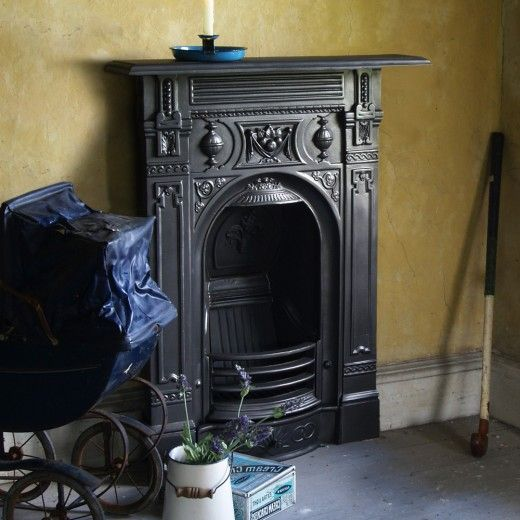 1000+ ideas about Cast Iron Fireplace on Pinterest