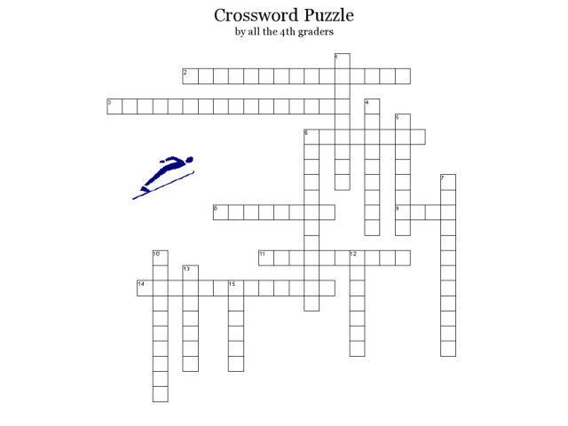 Crossword puzzles, Winter olympics and Crossword on Pinterest