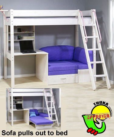 loft bed with chair futon foldingchairsandtables 34 best images about home: m's new room on pinterest   girl beds, tween and little ...