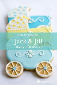20 Amazing Jack & Jill Baby Shower Ideas   We, The o'jays ...