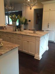 granite kitchen fantasy brown cabinets quartzite island countertops stone countertop natural counters quartz materials cream grey marble cabinet hard colors