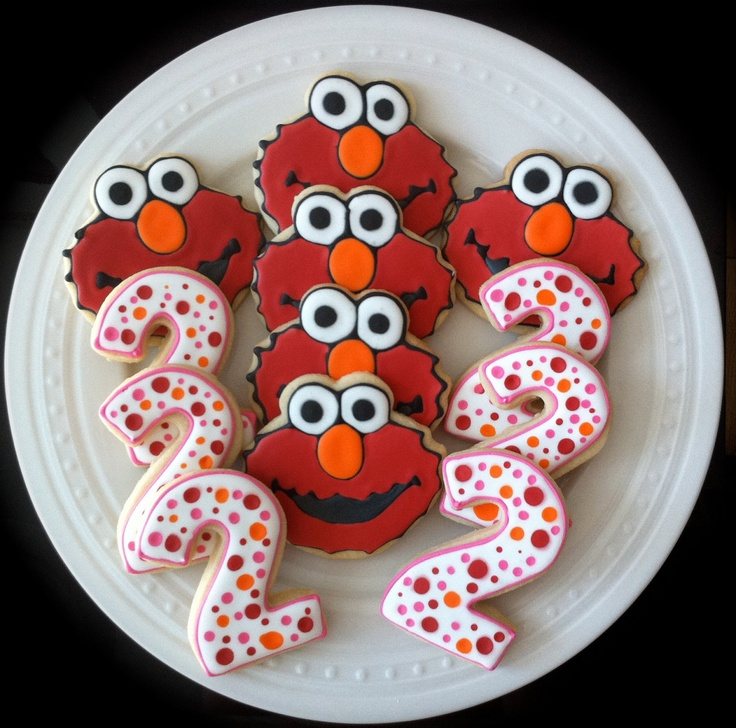 1000 Images About Cookies Numbers And Letters On