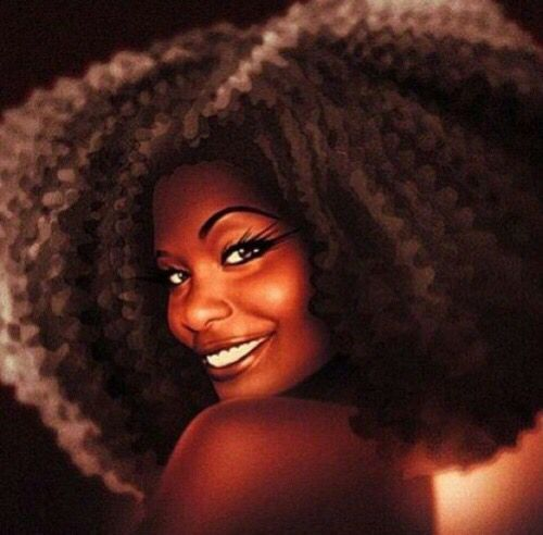 Black woman smiling art  Smiling is the Best Medicine   Pinterest  Black women Art and Womens