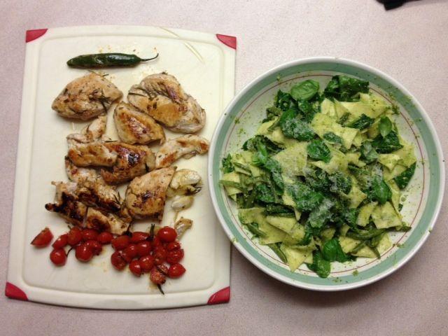 Jamie Oliver 15 Minuten Küche Pasta Pesto | Salmon Spaghetti ...