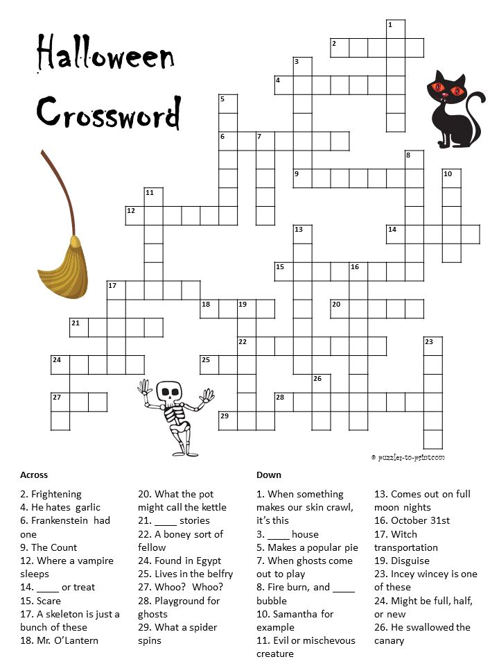 105 best images about Crosswords for Kids on Pinterest