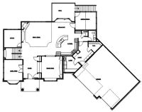 Angled Garage House Plans