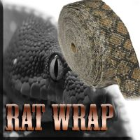 This snakeskin exhaust wrap is the most popular Rat Wrap ...