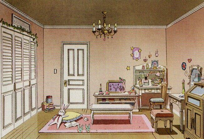 Wallpaper Girl With Headphones Tsukino Usagi S Bedroom Concept For Sailor Moon Crystal ヽ