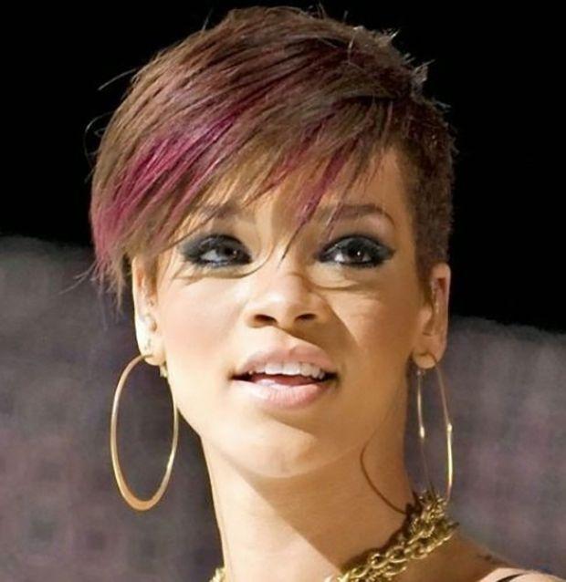 Die Besten 20 Kurzhaarschnitt Rihanna Ideen Auf Pinterest