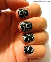 horseshoe nail art projects