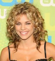 layered curly hair - google