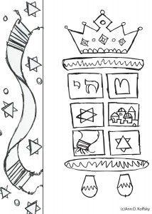 Shabbat Torah Clip Art