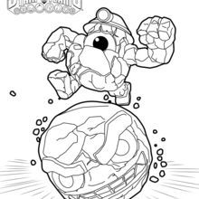 17 Best images about Skylanders coloring pages on