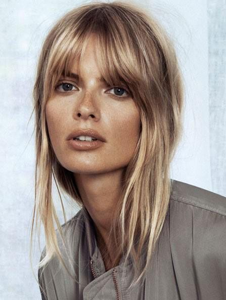25 Best Ideas About Blonde Hair Bangs On Pinterest Hair With