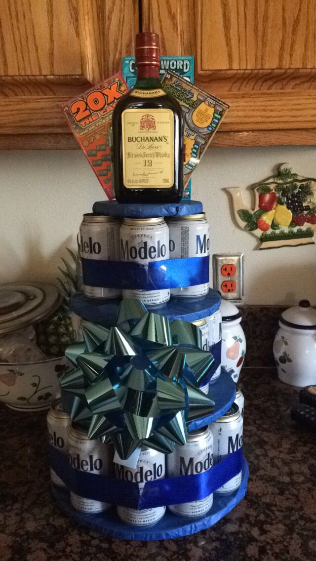 Diy Beer Cake Tower Diy Pinterest Crafts Pizza And