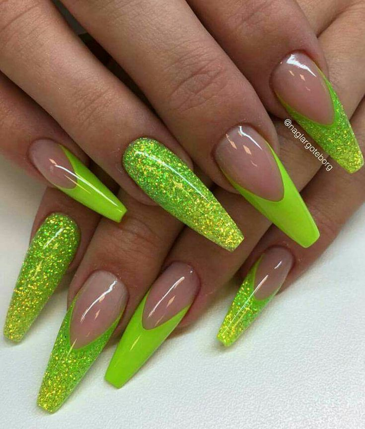 20+ best ideas about Neon Nails on Pinterest