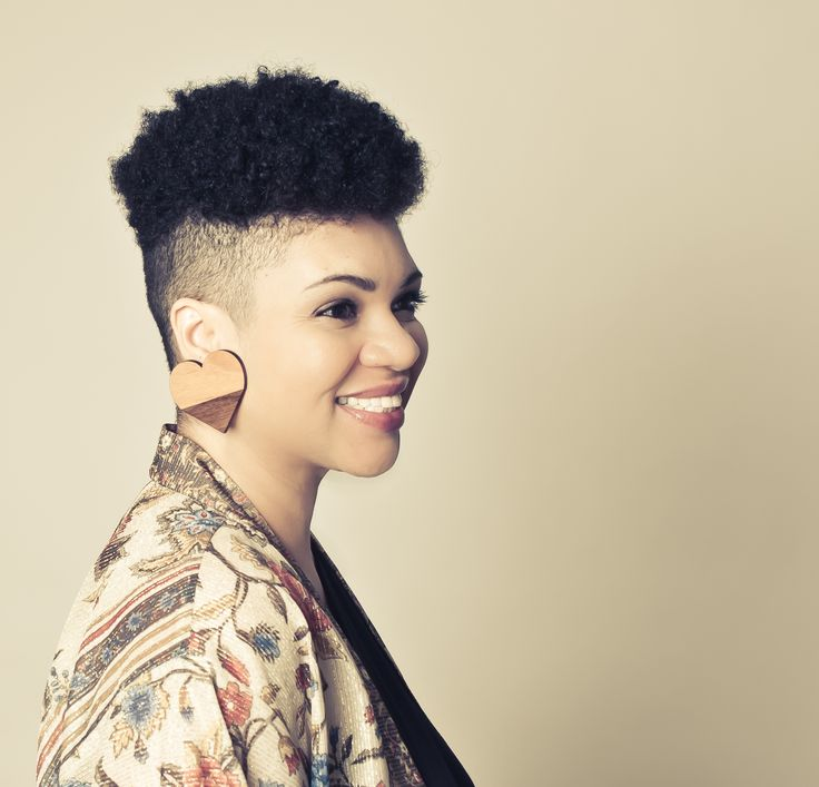 The 199 Best Images About Shaved Natural Hair Styles On Pinterest