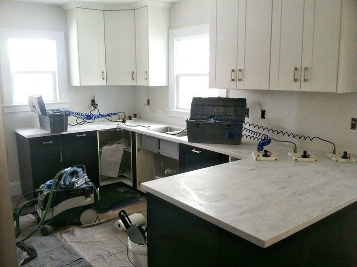 Danks and Honey Kitchen Renovation  Solid Surface