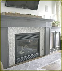 1000+ ideas about Subway Tile Fireplace on Pinterest ...