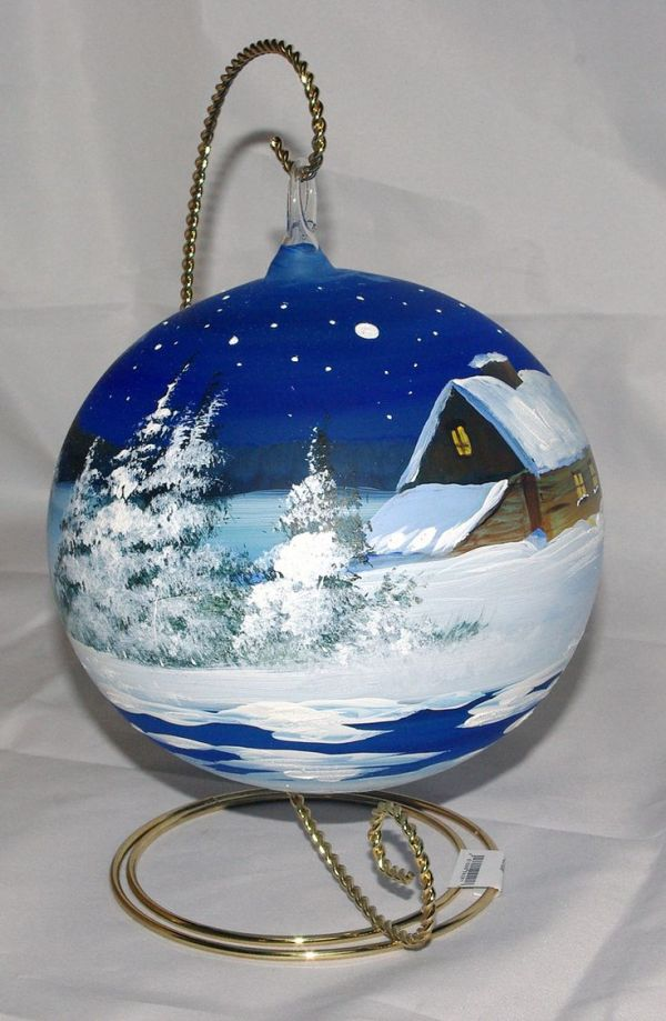 17 Best ideas about Hand Painted Ornaments on Pinterest