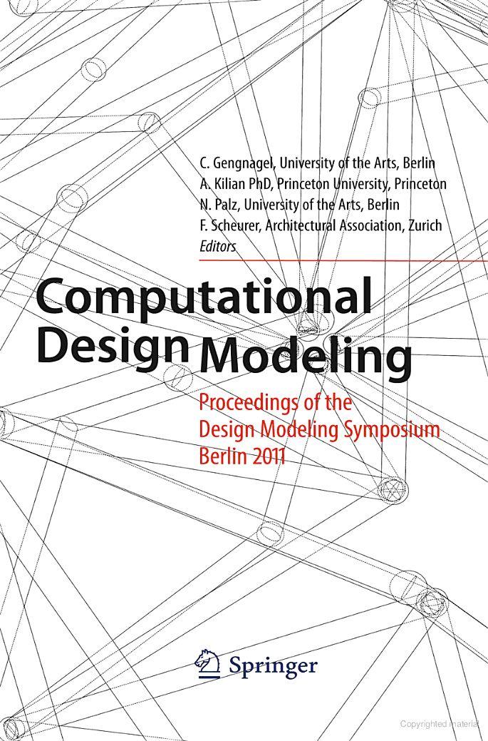 Computational Design Modeling: Proceedings of the Design