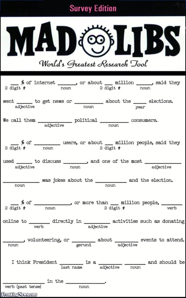 35 best Mad Libs images on Pinterest