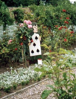 54 Best Images About Alice In Wonderland Garden Ideas On Pinterest