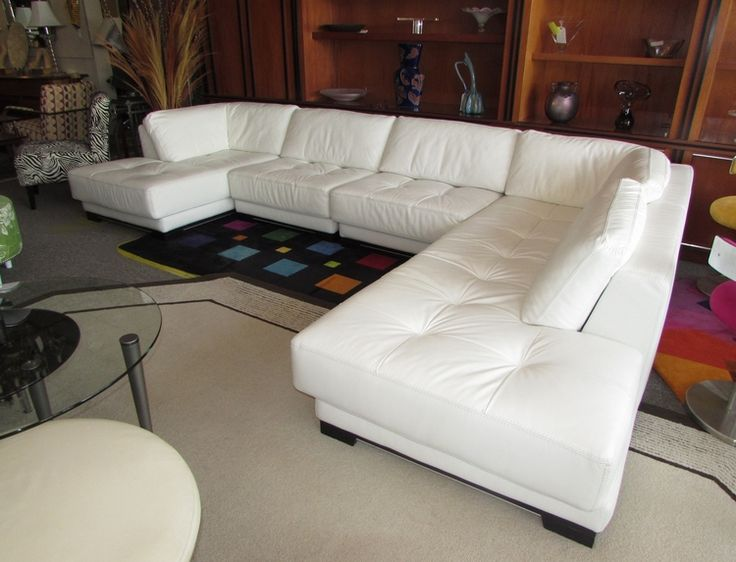 1000 ideas about White Leather Sofas on Pinterest  Leather Sofas Discount Couches and Button Sofa