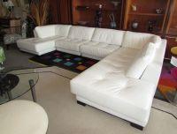 1000+ ideas about White Leather Sofas on Pinterest ...