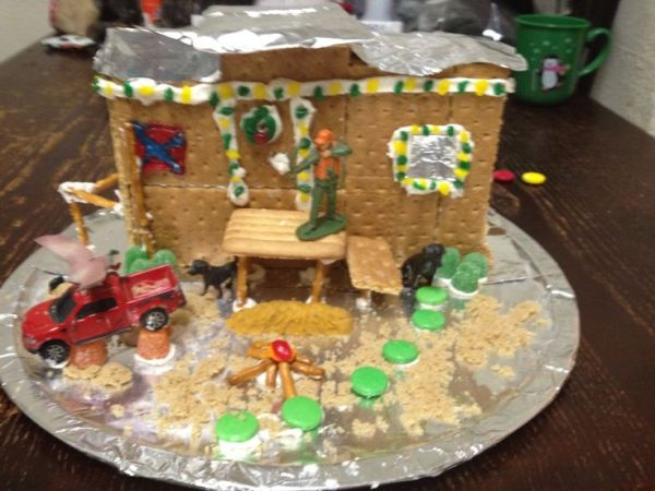 22 Best images about red neck ginger bread house on