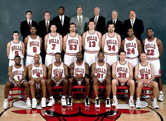 Chicago Bulls 1997 1998 Roster 97 98 Chicago Bulls
