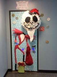 Santi Claws Jack, Christmas door decorattion | nightmare ...