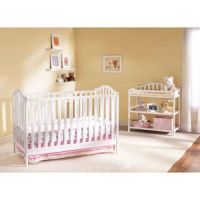 Cooper 4-in-1 Convertible Fixed-Side Crib and Changing ...