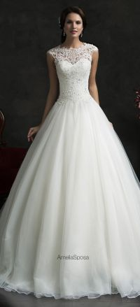 25+ best ideas about Pretty Wedding Dresses on Pinterest ...