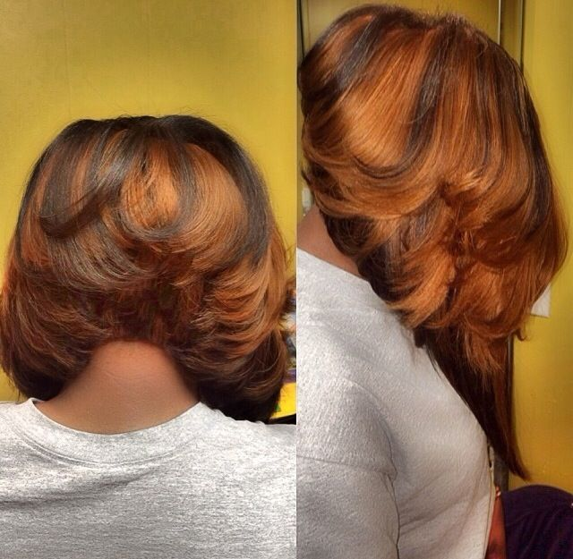 African American Layered Hair Styles A Collection Of Hair And