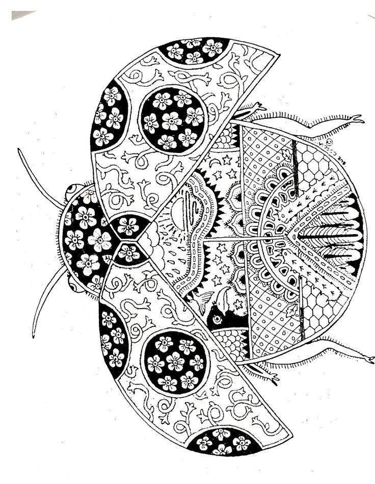 108 best images about dessin mandala on Pinterest